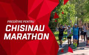 Au început antrenamentele de pregătire pentru Maratonul din Chișinău