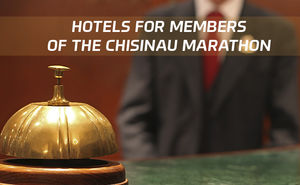 Hotel rooms with a discount for members of the Chisinau Marathon