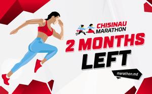Au rămas 2 luni până la Chisinau Marathon!