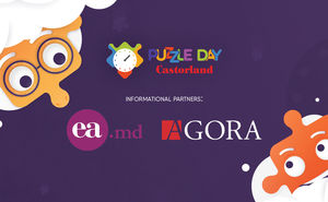 Agora and Ea.md – media partners of Puzzle Day 2019