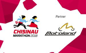 Motoland - Expo partner for Chisinau International Marathon