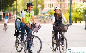 Подушка безопасности для велосипедиста: как она работает (Видео)