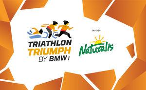 Соки Naturalis — самая сладкая часть чемпионата Triathlon Triumph 2019