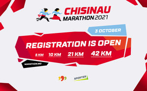Registration for the Chisinau Marathon 2021 is open