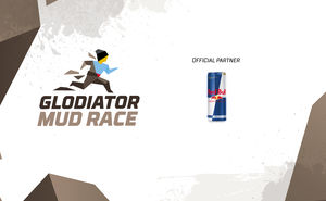 Red Bull: taste the victory at Glodiator Mud Race 2019