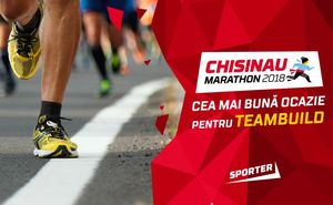 Maratonul Internațional Chișinău – prilej perfect pentru team building