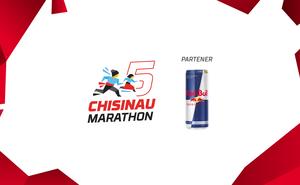 Ajunge mai rapid cu Red Bull la linia de finiș a Maratonului Chișinău