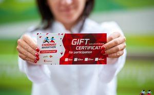 Сертификат участия в марафоне - отличный подарок чемпиону вашей жизни