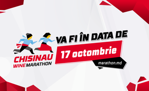Data petrecerii Chisinau Marathon s-a modificat !