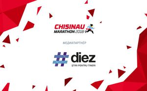 Портал Diez.md стал медиапартнером Chisinau International Marathon 2018