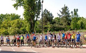 Состоялся велозаезд в рамках подготовки к Chisinau Criterium