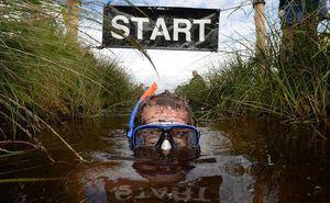 В Ирландии прошел болотный заплыв. Фото