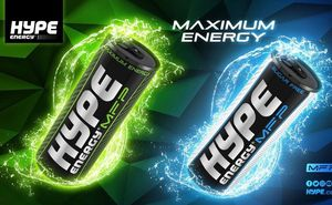 Hype Energy Drink – official energy drink of Sea Mile competition