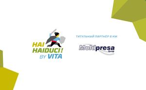 Moldpresa – титульный партнер 8-километрового забега Hai Haiduci By VITA