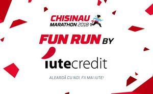 """Aleargă iute și vesel la cursa """"Fun Run"""" alături de compania Iute Credit"""