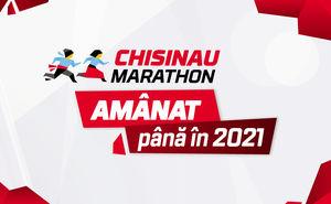 Maratonul Chișinău, amânat pentru anul viitor