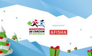 Медиапартнером Maratonul de Crăciun by Naturalis станет портал Afisha.md
