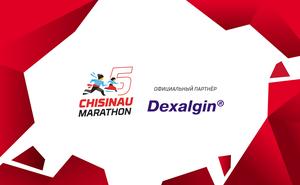 Dexalgin®: Беги без боли и проблем на Кишиневском марафоне