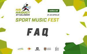 """FAQ about """"Hai Haiduci! by Salomon"""" festival"""