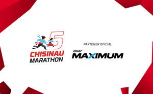MAXIMUM - partener oficial la Maratonul Internațional Chișinău