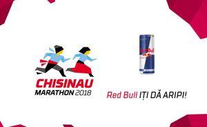 """Red Bull - partenerul """"Maratonului Internațional Chișinău 2018"""""""