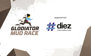 #diez вступает в гонку с препятствиями Glodiator MUD RACE 2019