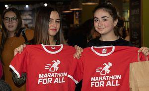 """Волонтеры готовятся к """"Marathon for All"""""""