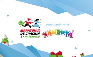 Праздник на Maratonul de Crăciun by Naturalis начнётся с палочек Sănduța