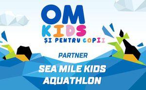 """OM Kids - partner for """"Sea Mile Kids Aquathlon 2018"""""""