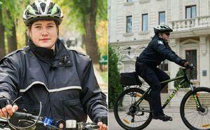Polițistă pe bicicletă: Nu aș schimba asta pentru nimic altceva