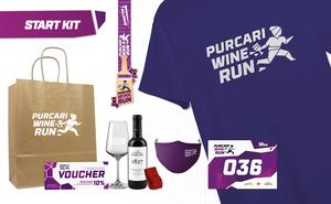 Стартовый набор участника Purcari Wine Run 2021