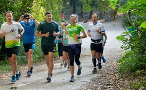 """Participanții """"Purcari Wine Run"""" au desfășurat un antrenament"""