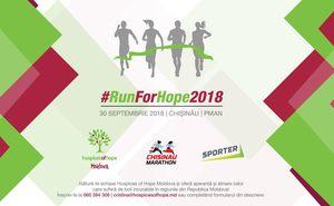 Присоединись к команде Hospices of Hope Moldova на Chisinau Marathon!