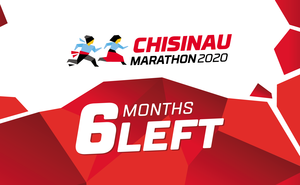 Six months left until Chisinau International Marathon 2020