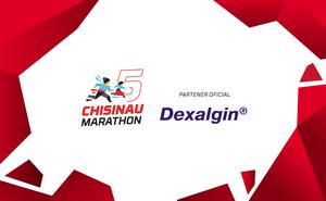 Dexalgin®: alergați fără durere și probleme la Maratonul Chișinău