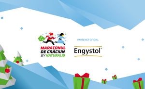 Engystol a oferit  medalii dulci campionilor de la Maratonul de Crăciun