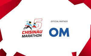 OM — the official water of Chisinau International Marathon 2019