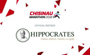 Hippocrates - the official partner for Chisinau International Marathon