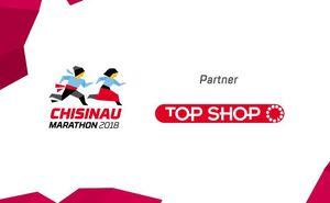 TOP SHOP - expo partner for Chisinau International Marathon