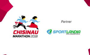 Sportlandia - Expo Zone partner of Chisinau International Marathon 2018