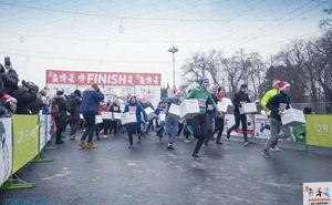 В преддверии Нового Года в столице прошел четвертый Карнавальный забег