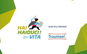 Traumeel S - the title partner for 19 km race Hai Haiduci By VITA 2019