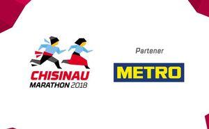 "METRO - energie pentru campionii ""Chișinău International Marathon"""