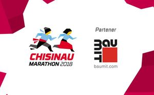 Baumit – partener oficial Chisinau International Marathon 2018