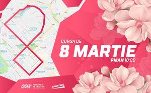 Cursă de 8 martie în centrul Chișinăului
