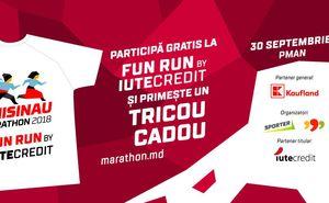 """Participă la cursa de alergare în masă """"Fun Run by Iute Credit"""""""