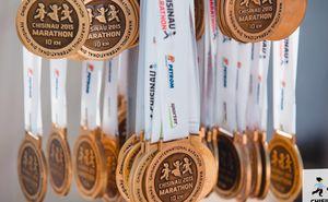 Chisinau International Marathon. History of a medal (Video)