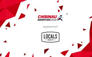 Locals – медиапартнер Chisinau International Marathon 2018