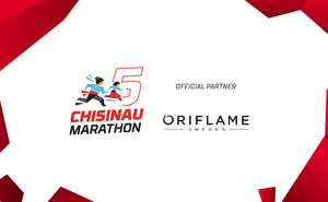 Oriflame — official partner of Chisinau International Marathon 2019