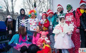 Maratonul de Crăciun: участники в оригинальных костюмах получат призы!